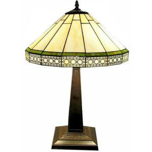 Warehouse Of Tiffany 24 In. Roman Brown Table Lamp F16257   The Home Depot