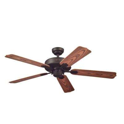 Willow Breeze 52 in. Oil Rubbed Bronze Indoor/Outdoor Ceiling Fan