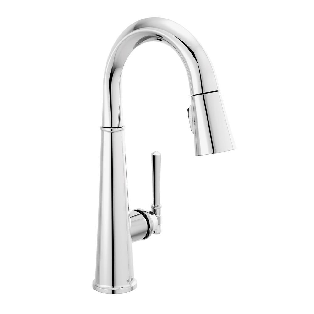 Emmeline Single-Handle Bar Faucet in Lumicoat Chrome