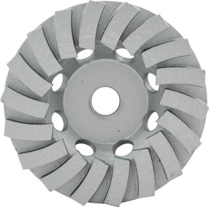 Lackmond 4.5 inch Segmented Turbo Cup Wheel with 18 Segments and 5/8 inch -11... by Lackmond