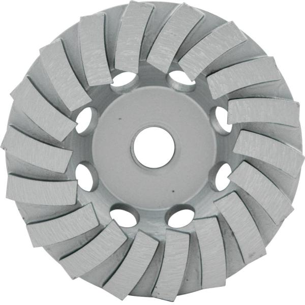 Lackmond 4.5 in. Segmented Turbo Cup Wheel with 18 Segments and 5/8 in. -11 Nut