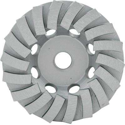 4.5 in. Segmented Turbo Cup Wheel with 18 Segments and 5/8 in. -11 Nut