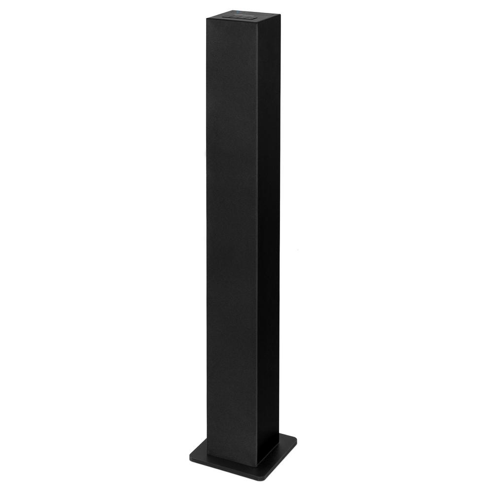 Slim Bluetooth Tower Speaker in Black