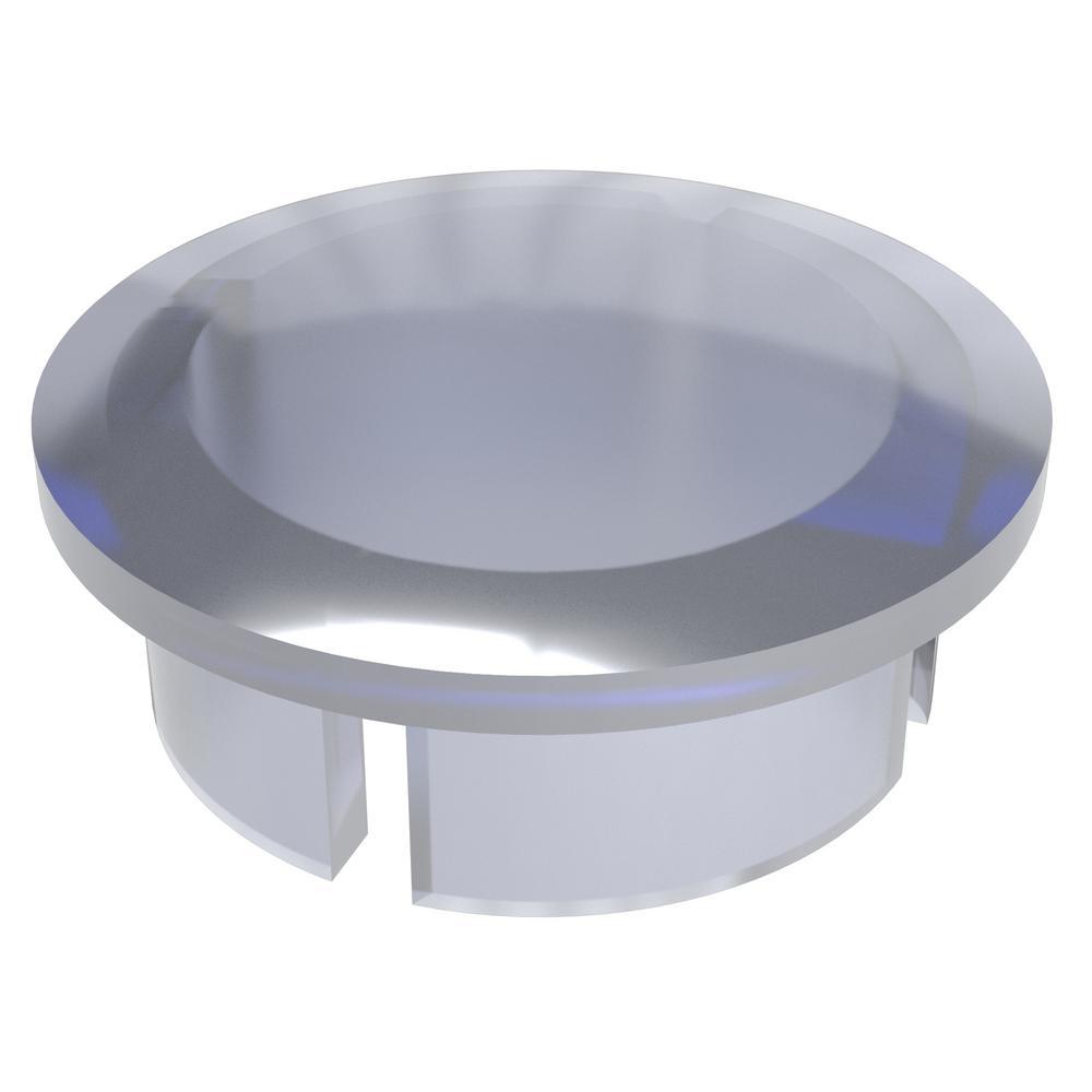1-1/4 in. Furniture Grade PVC Internal Dome Cap in Clear