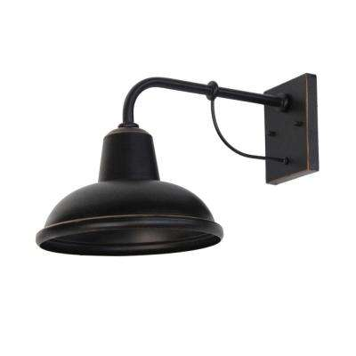 Tanner 1-Light Oil-Rubbed Bronze Outdoor Sconce
