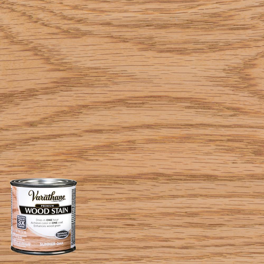 Varathane 8 oz. Summer Oak Premium Fast Dry Interior Wood Stain