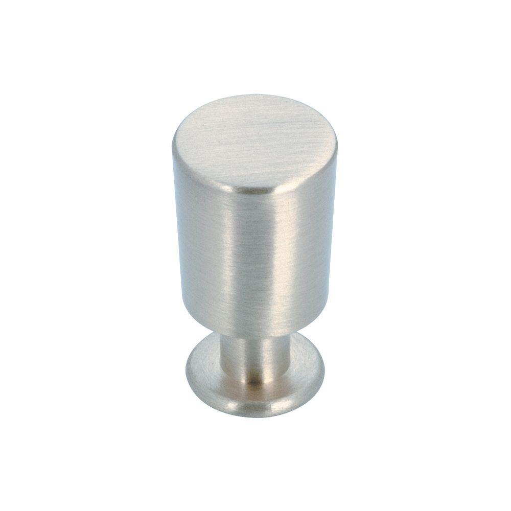 Richelieu Hardware Contemporary and Modern 5/8 in. Brushed Nickel Cabinet Knob