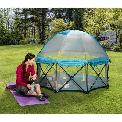 26 in. Eight Panel My Play Deluxe Portable Play Yard