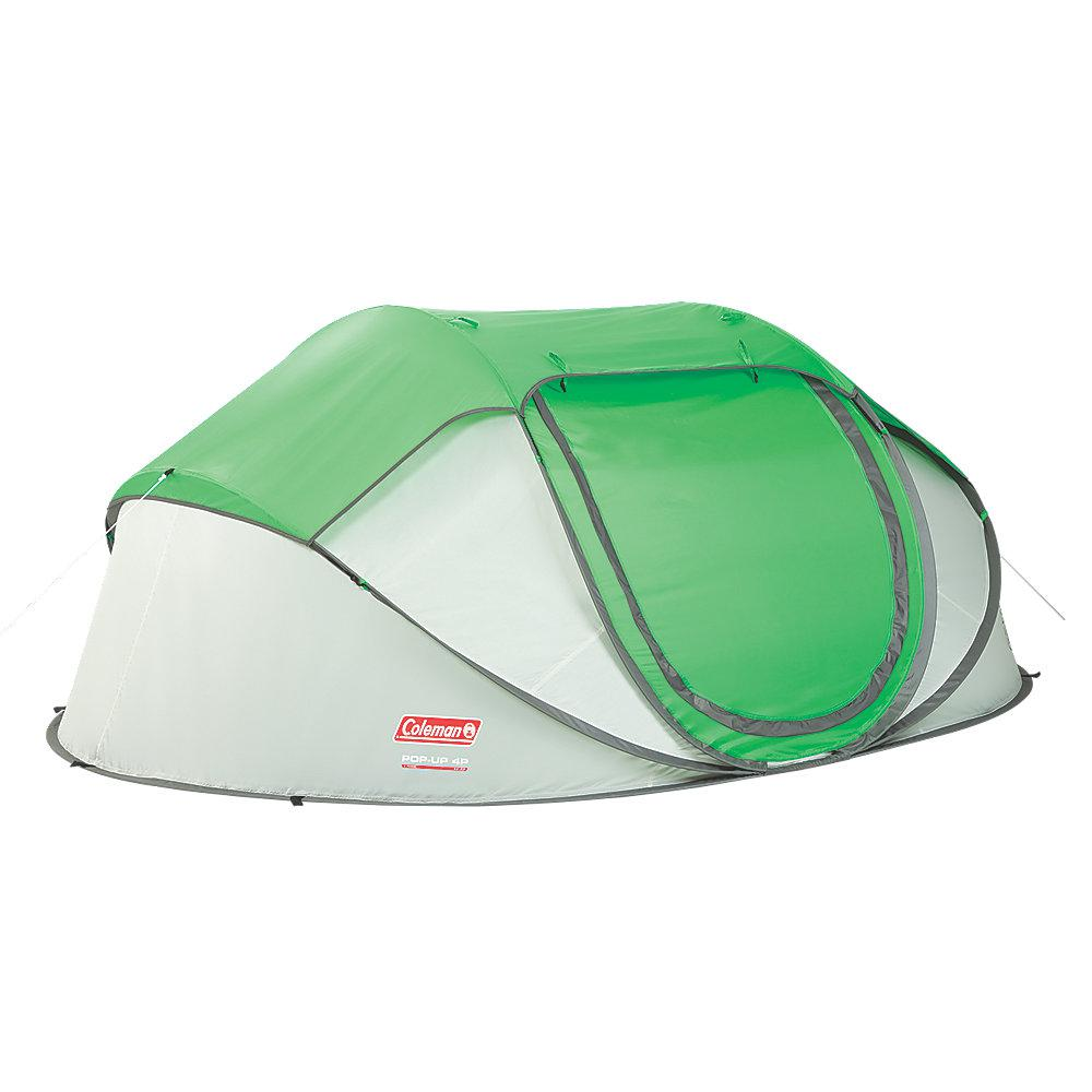 Coleman 4-Person 9 ft. 2 in. x 6 ft. x 6 in. Pop-Up Tent