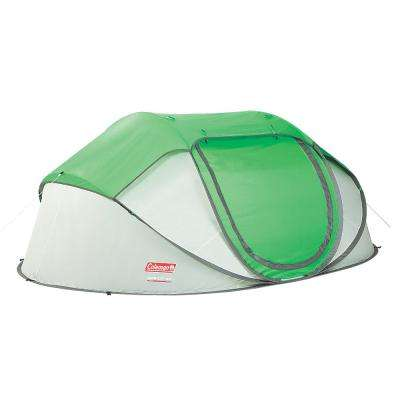 4-Person 9 ft. 2 in. x 6 ft. x 6 in. Pop-Up Tent