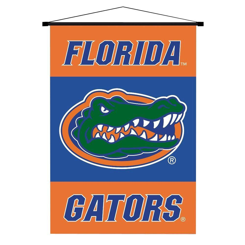 BSI Products NCAA Florida Gators Indoor 3 ft. 3 in. x 2 ft. 3 in. Banner Scroll