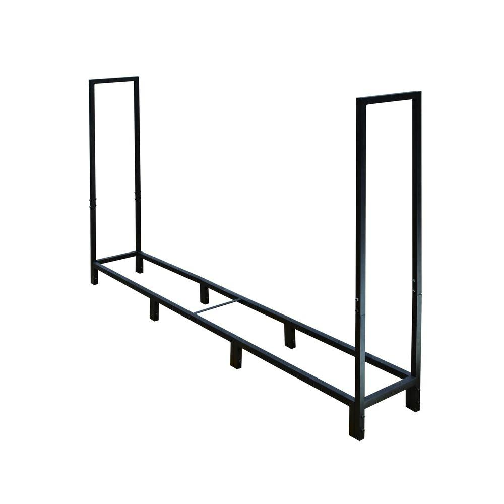 8 ft. Heavy Duty Square Tube Log Rack-H170B - The Home Depot
