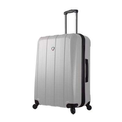 Tosetti 28 in. White Hardside Spinner Suitcase