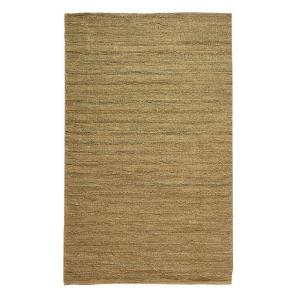 Home Decorators Collection Banded Jute Dark Natural 7 Ft X 9 Area Rug 0600220960 The Depot