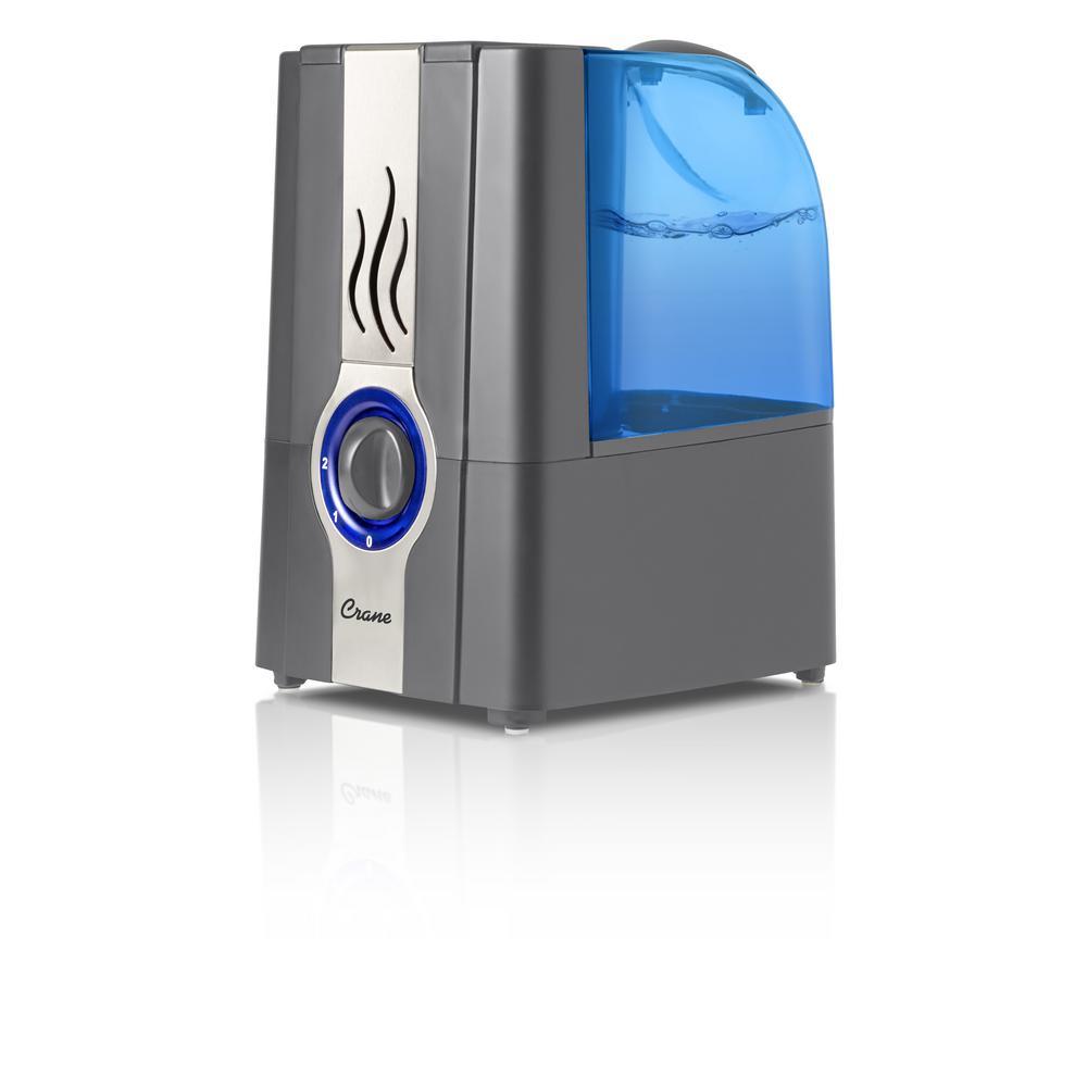 1 Gal. Warm Mist Humidifier - Slate