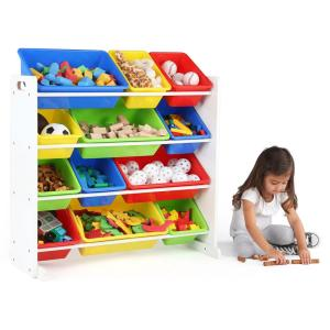 Gentil +4. Tot Tutors Summit Collection White Primary Kids Toy Storage ...