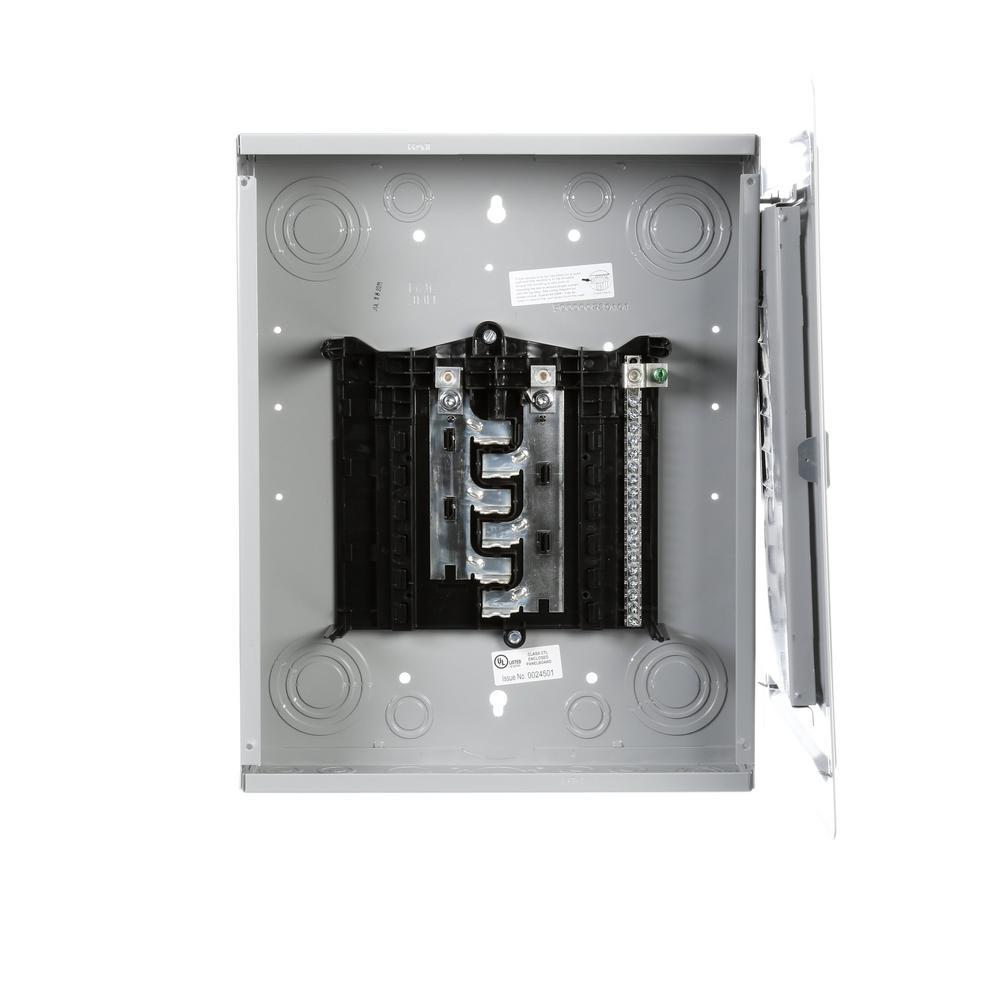 ES Series 125 Amp 12-Space 24-Circuit Main Lug Indoor Load Center