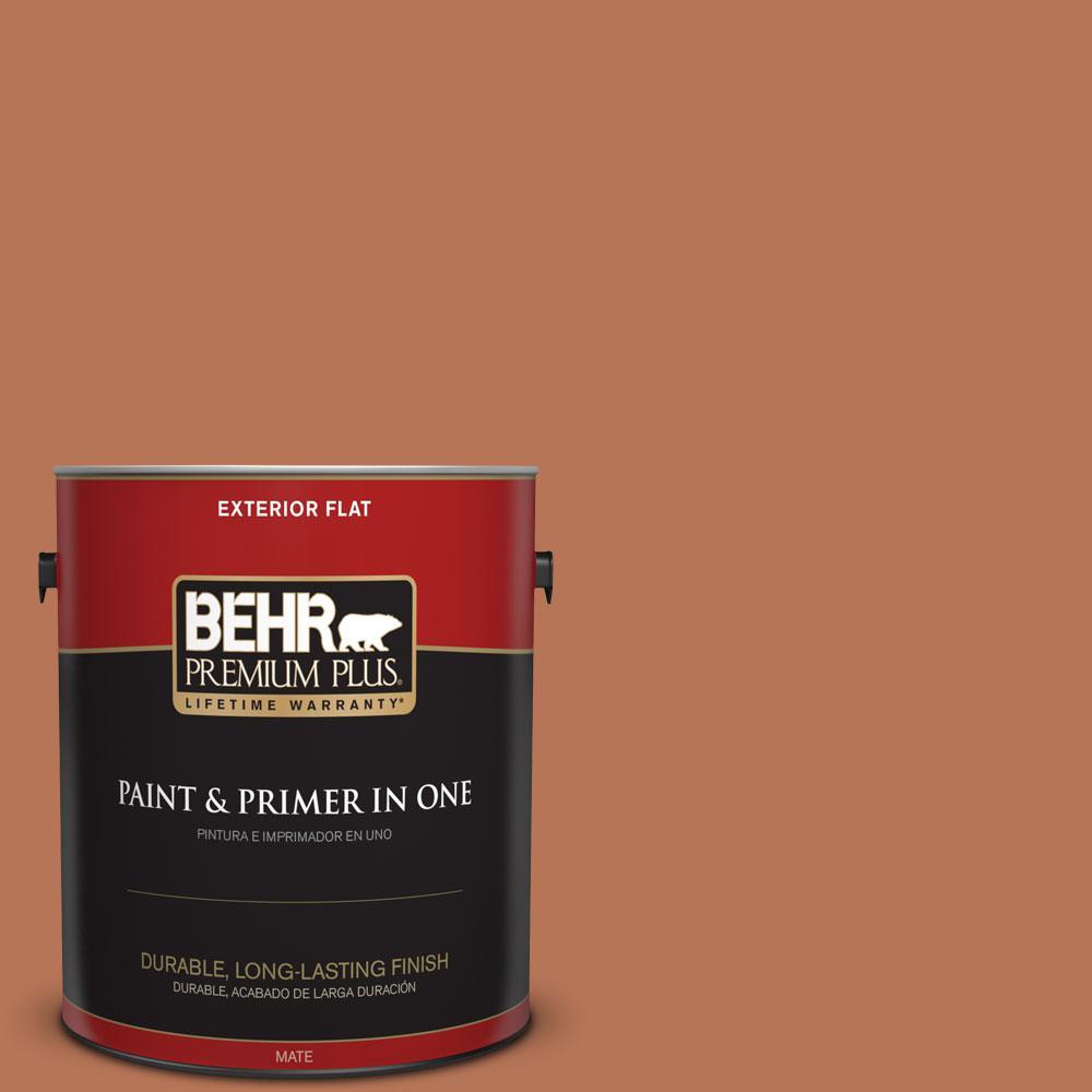 Home Decorators Collection 1-gal. #HDC-AC-06 Campfire Blaze Flat Exterior Paint