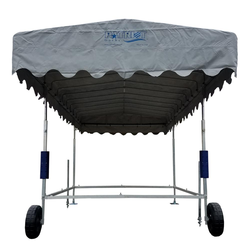10 ft. by 24 ft. Free Standing Canopy Frame and Cover