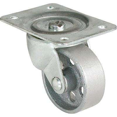 4 in. Cast Iron Swivel Caster with 500 lb. Load Rating