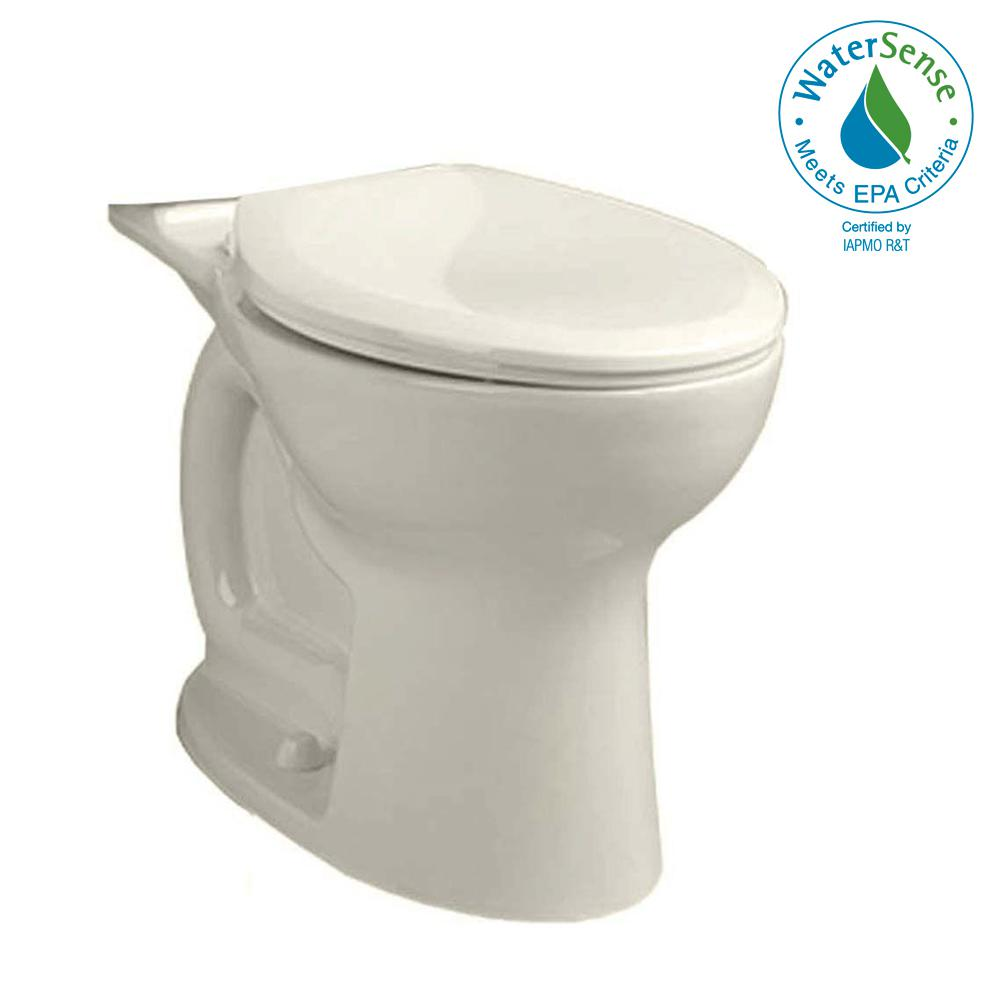 Cadet Pro Compact Right Height 1.28 GPF Elongated Toilet Bowl Only