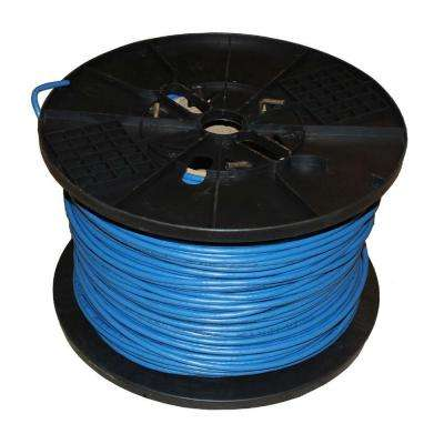 TygerWire Category 5 1000 ft. Blue 24-4 Unshielded Twist Pair Cable with FT6 Rated