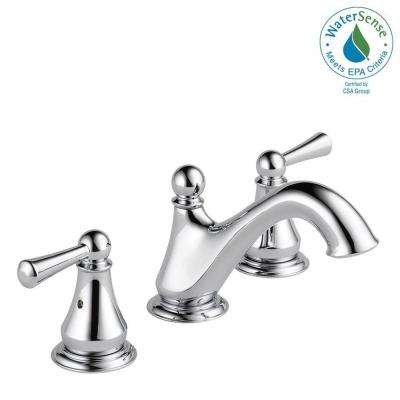 Haywood 8 in. Widespread 2-Handle Bathroom Faucet in Chrome