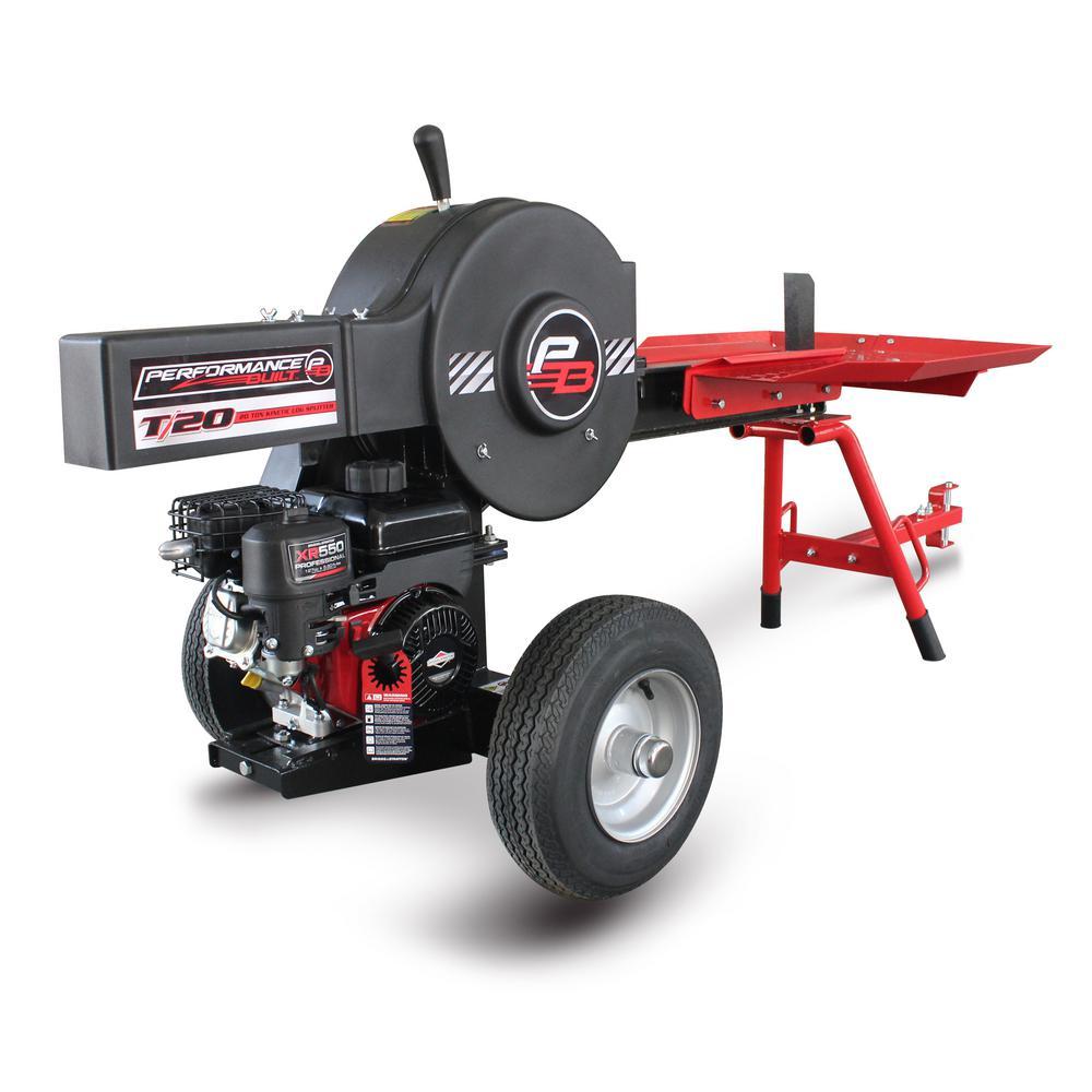 20-Ton 127 cc Kinetic Log Splitter