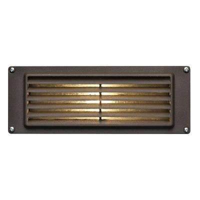 Low-Voltage 12-Watt Bronze Stair-Mount Outdoor Deck Light