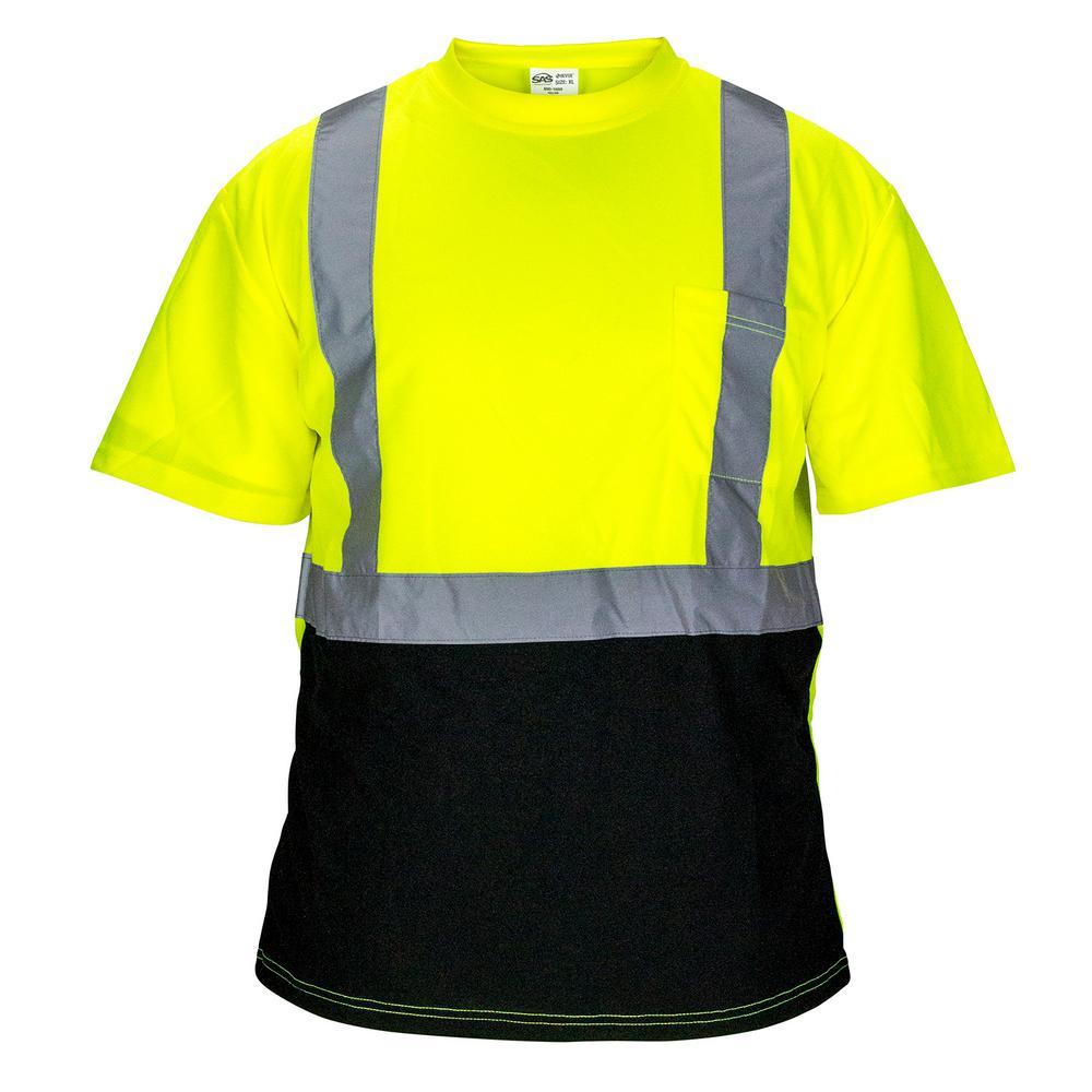 Sas Safety Medium Class 2 Black Bottom T Shirt 690 1658