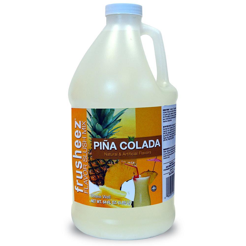 1/2 Gal. Pina Colada Frusheez Slush Mix