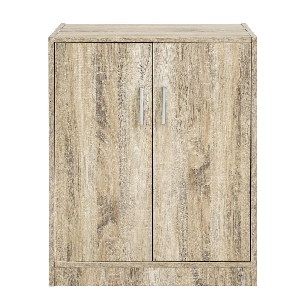 Melvin Shoes Storage Cabinet 4-Tiers 2-Doors