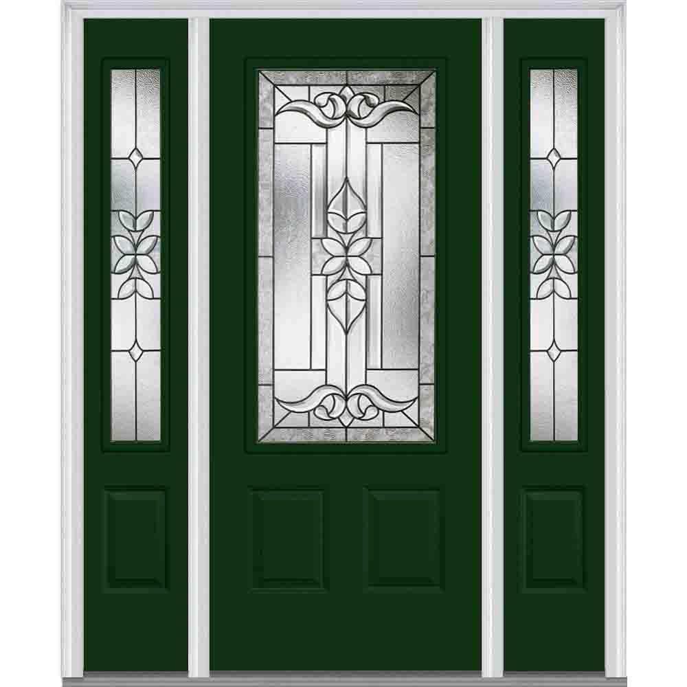 MMI Door 60 in. x 80 in. Cadence Left-Hand 3/4  sc 1 st  The Home Depot & MMI Door 60 in. x 80 in. Cadence Left-Hand 3/4 Lite 2-Panel ... pezcame.com