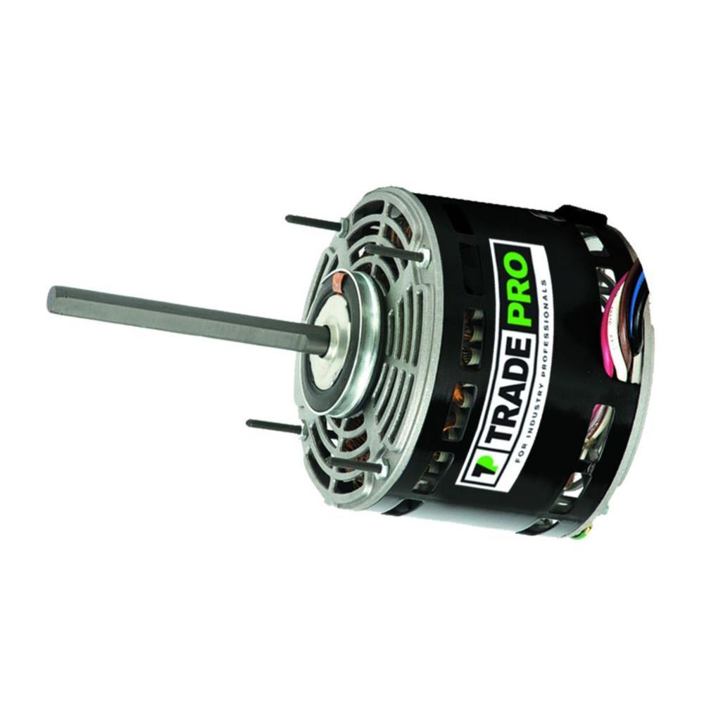 Replacement Evaporator Fan Motor 3/4 HP Three Speed 1075 ...