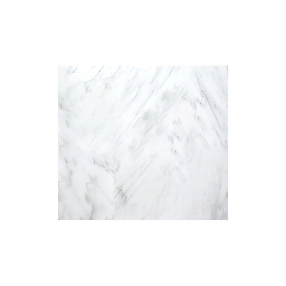Marble Winter Frost Polished 17.99 in. x 17.99 in. Marble Floor