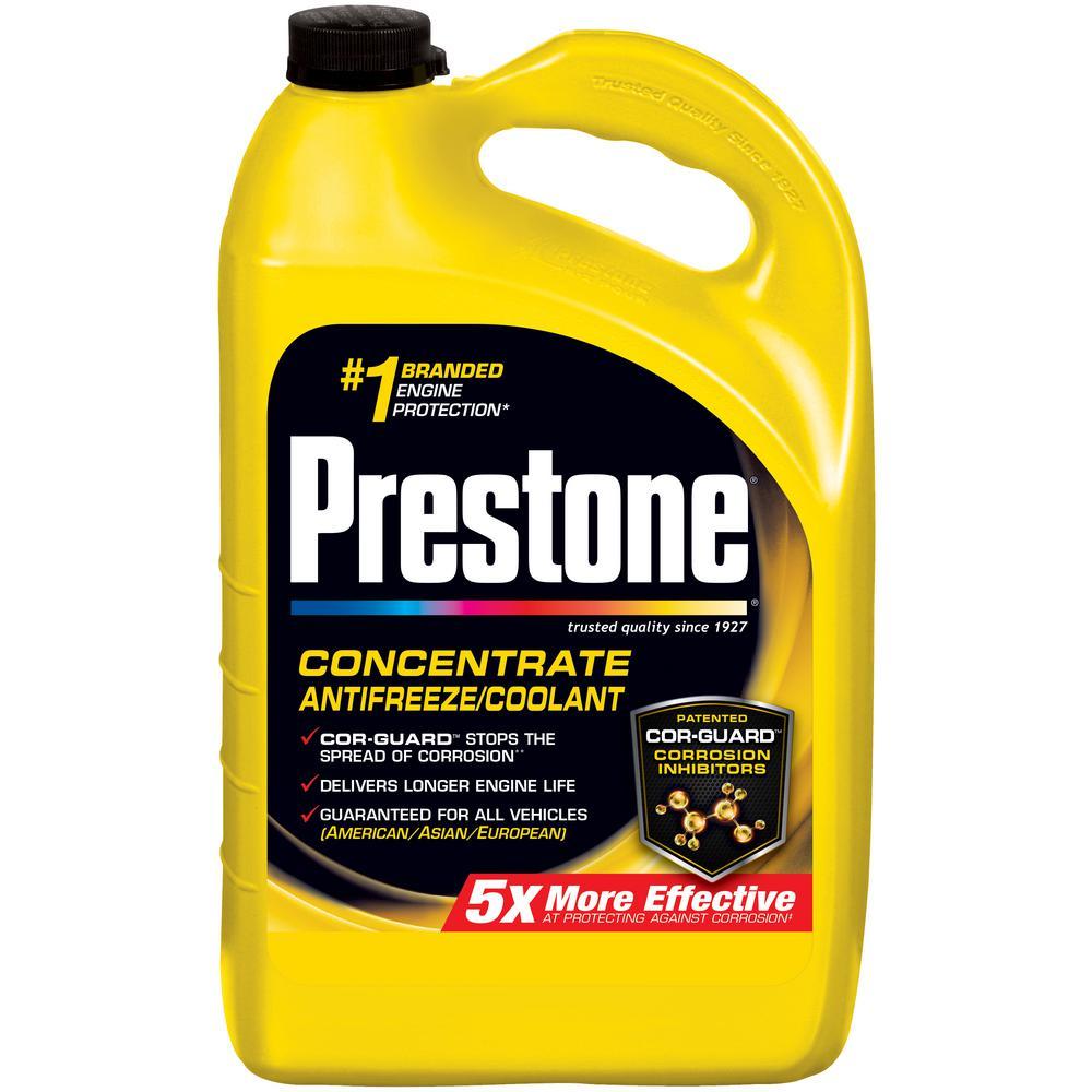 Prestone 128 fl. oz. DEX-COOL 50/50 Antifreeze-AF850 - The Home Depot