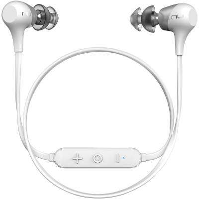 Affordable Bluetooth In-Ear Headphones in White