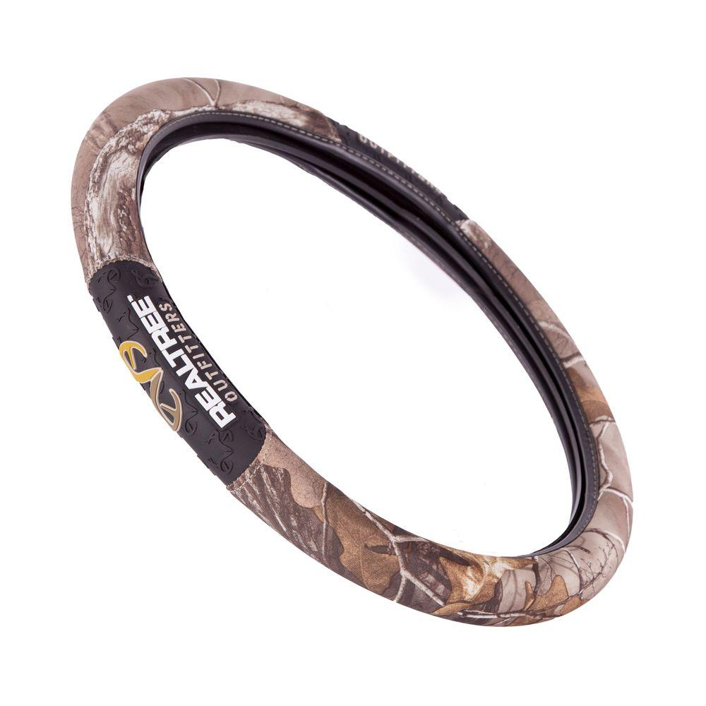 Realtree RSW3505 2 Grip Steering Wheel Cover RSW3505 The