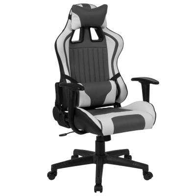 Gray and White Office/Desk Chair