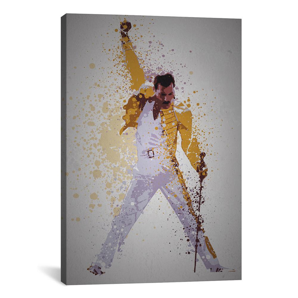 Freddie Mercury by Tom Moore Wall Art