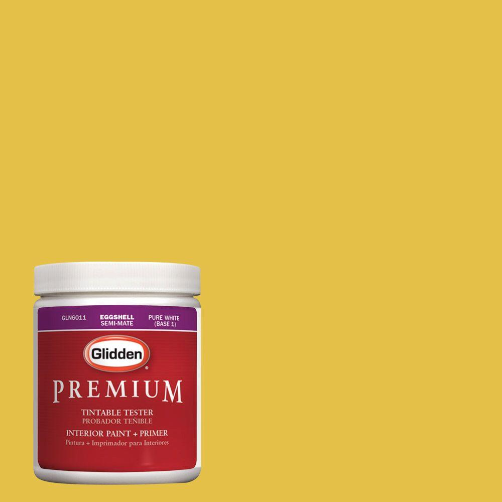 Glidden Premium 8 oz. #HDGY54D Golden Anniversary Latex Interior Paint Sample with Primer