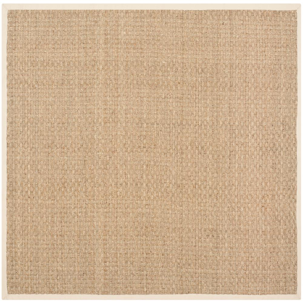 Safavieh Natural Fiber Tan Beige 7 Ft X Square Area Rug