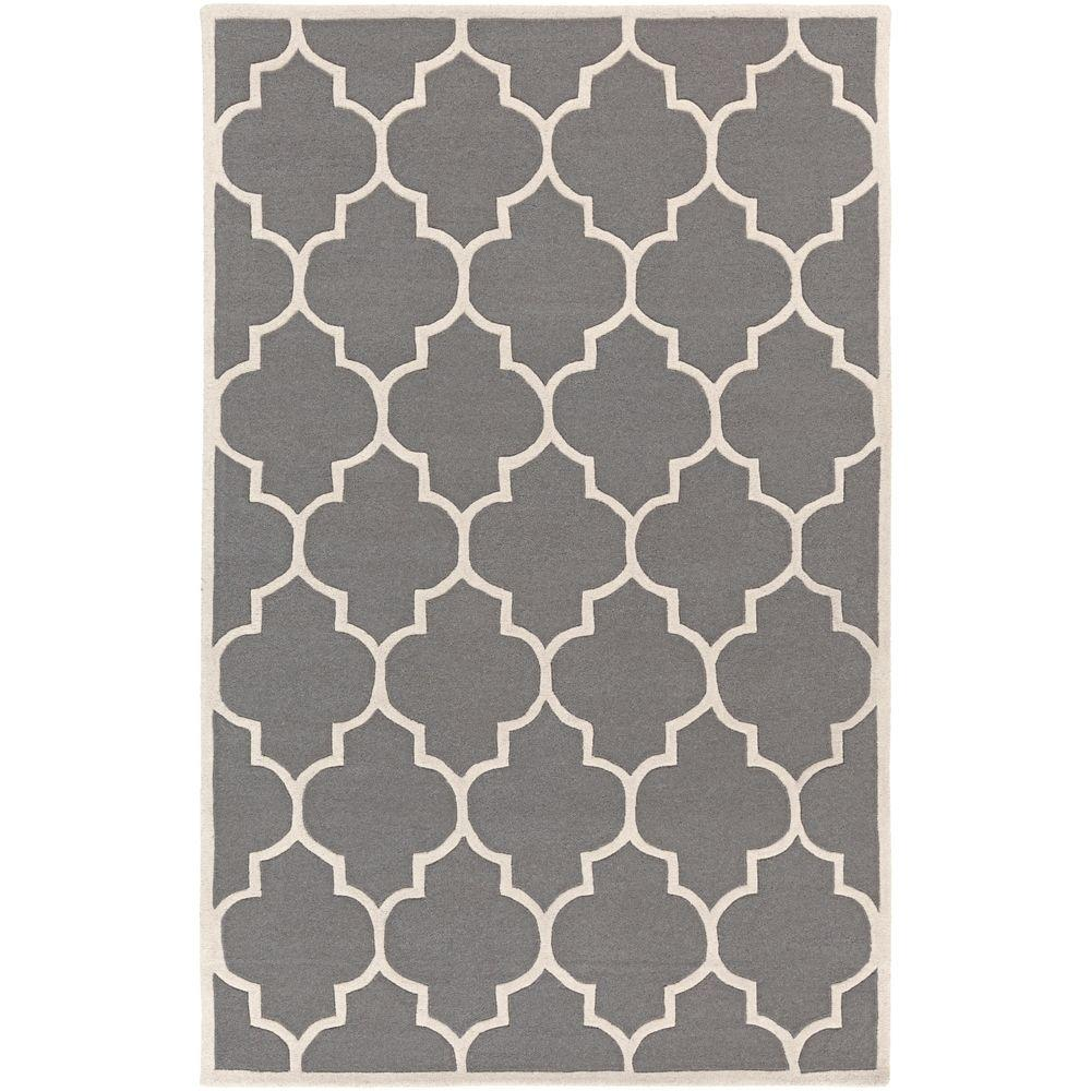 Transit Piper Gray 8 ft. x 10 ft. Indoor Area Rug