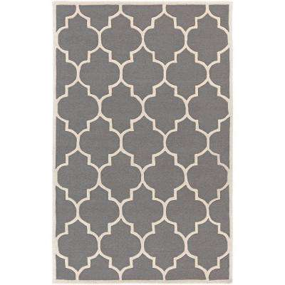 Transit Piper Gray 8 ft. x 11 ft. Indoor Area Rug