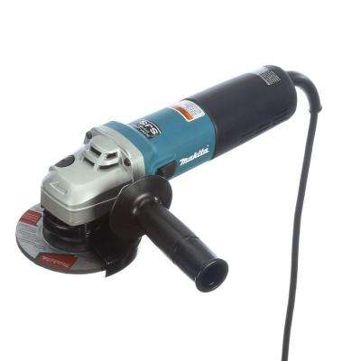 12 Amp 4-1/2 in. SJS High-Power Angle Grinder