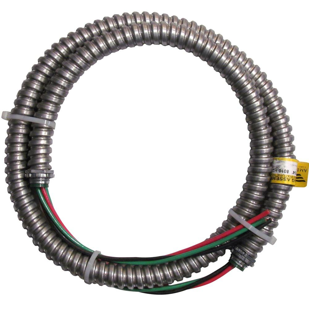 Afc Cable Systems 10 3 X 4 Ft Appliance Whip 8010 Hd