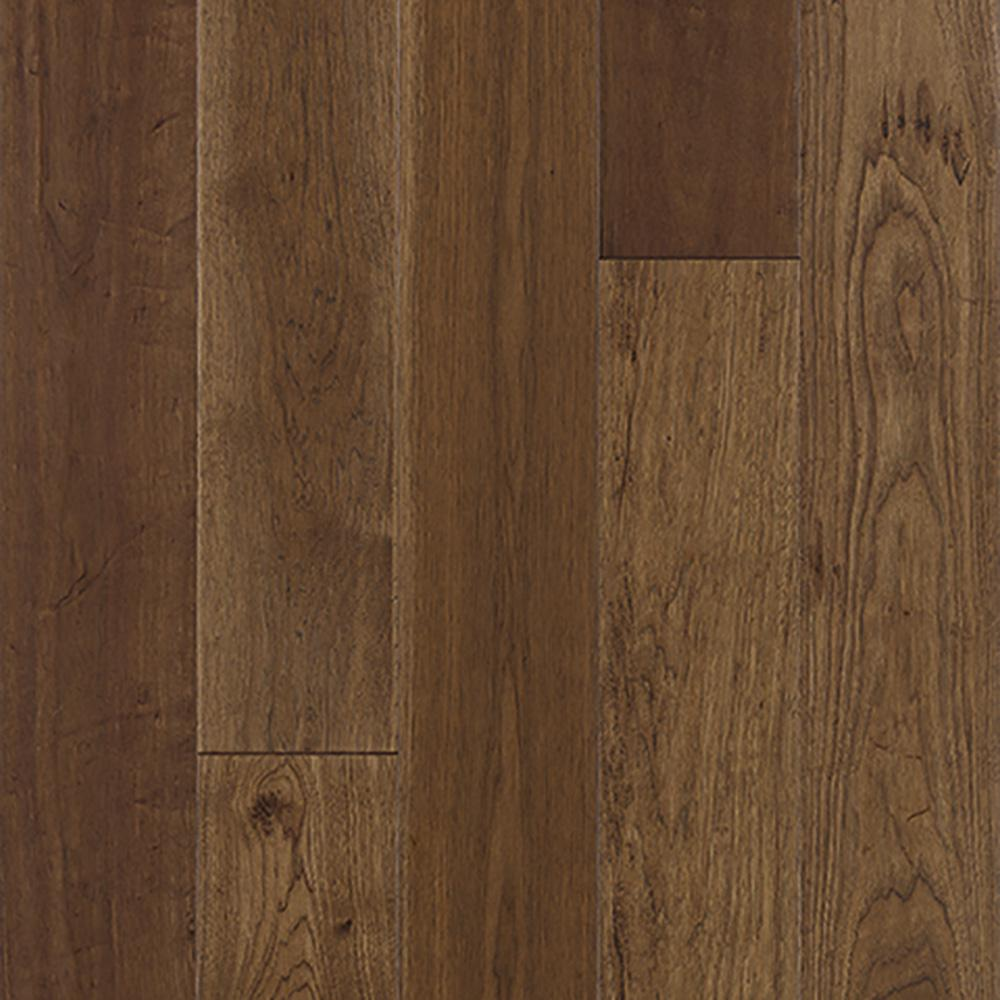 Mohawk Big Sky Rust Hickory 916 In Thick X 7 In Wide X Varying Length Engineered Hardwood Flooring 225 Sq Ft Case
