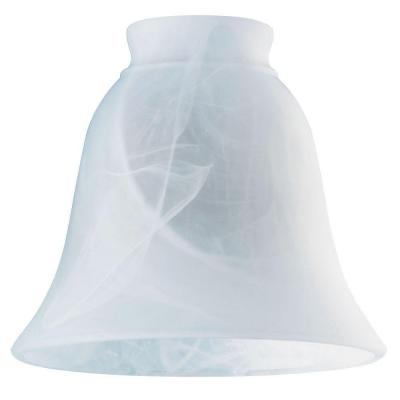 4-3/4 in. Milky Scavo Bell with 2-1/4 in. Fitter and 5-3/8 in. Width