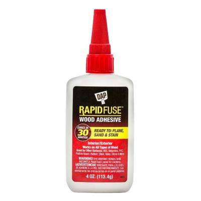 RapidFuse 4 oz. Clear Wood Adhesive (6-Pack)