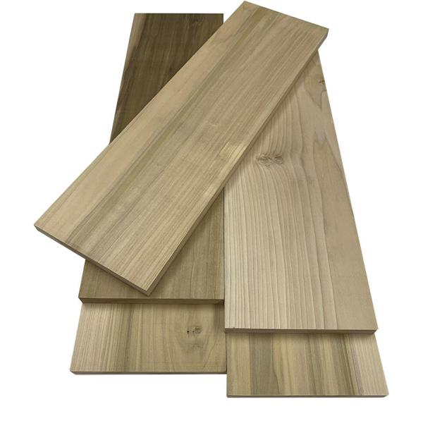 1 in. x 8 in. x 8 ft. Poplar S4S Board (2-Pack)